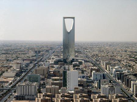 沙特首都的精华地段图片 33256 450x338