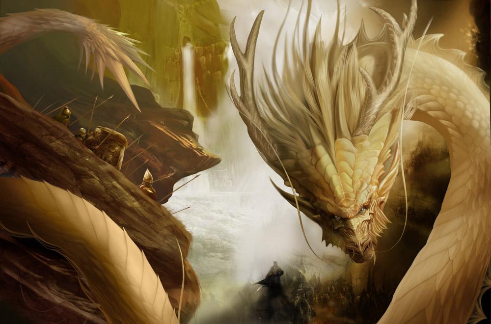 现在玄幻类,修仙类的小说里面都是龙